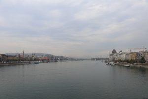 נהר הדנובה, בודה בצד שמאל ופשט בצד ימין. צילום: ניקול גינסברג