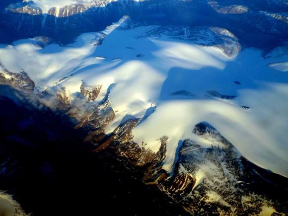 צילומי אוויר מ- 30 אלף רגל
