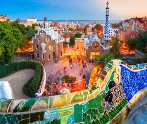 פארק גואל - אחד המקומות הקסומים בברצלונה. צילום: Shutterstock