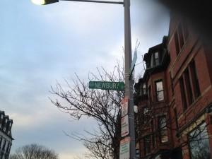 בוסטון - Newbury Street