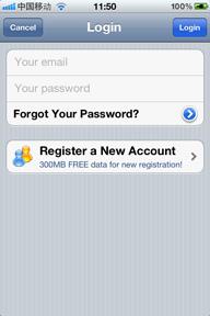 לחצו על Register a New Account