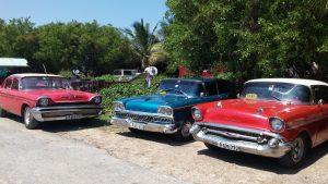 מונית טיפוסית בקובה. צילום: נטע יחזקאל