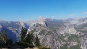 התצפית מה- Half Dome. צילום: גל סובול
