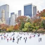 החלקה על הקרח בסנטרל פארק. צילום: shutterstock