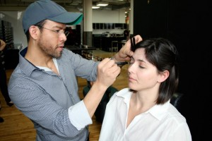 """""""Its fun to treat yourself with makeup class and produces"""". Photo: Tom Lev"""