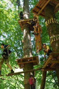 פארק אוונטורה - גן עדן לילדים. צילום מתוך: parc-aventura.ro