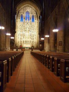 כנסיה יפיפיה בשדרה החמישית. צילום: אורטל קופמן