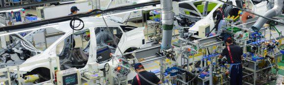 מפעל הייצור של טויוטה. צילום: תום לב